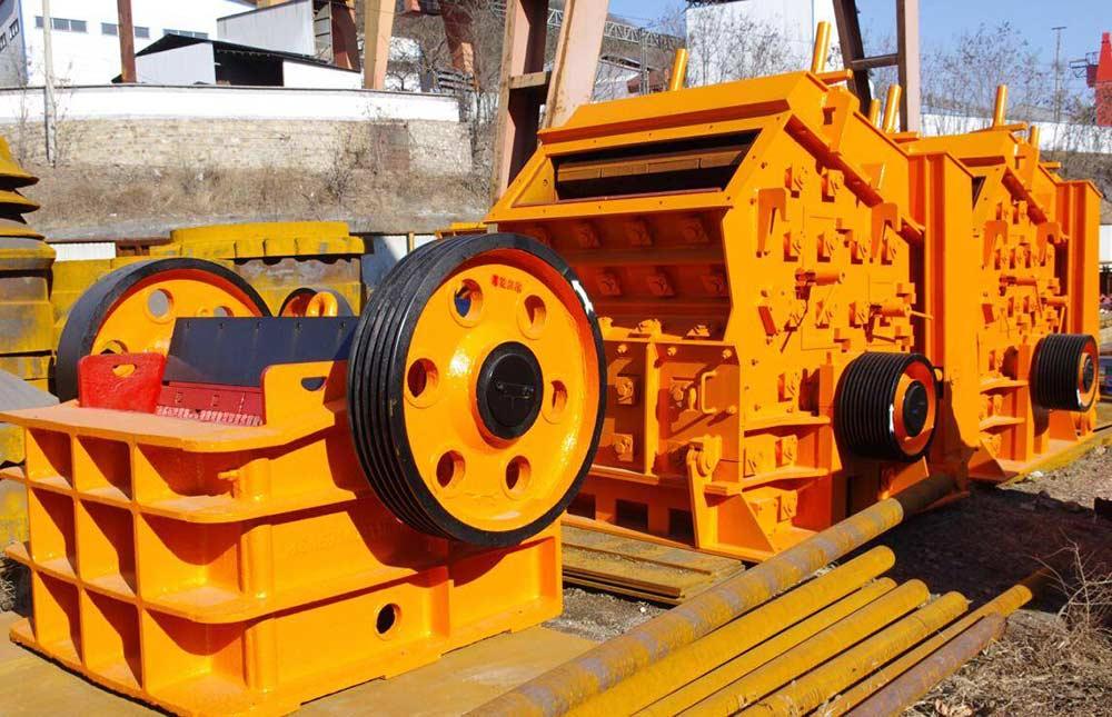 طراحی و تولید انواع مدل های سنگ شکن برای صنایع مختلف