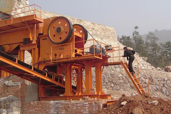 فرایند خردایش سنگ در ماشین آلات سنگ شکن