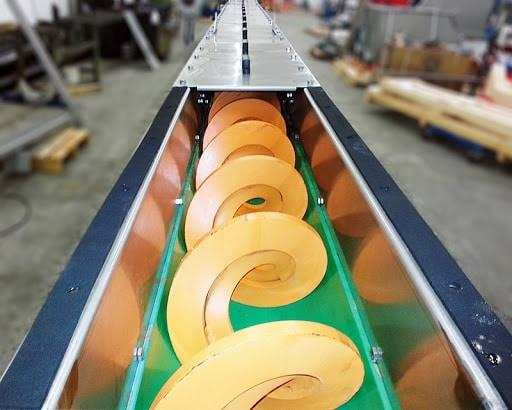 تولید اسکرو کانوایر و نوار نقاله برای صنایع مختلف