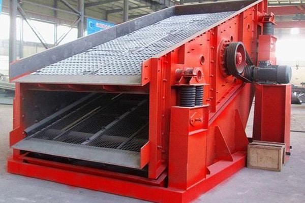 دستگاه سرند یا الک صنعتی استفاده در معادن و خط تولید سنگ شکن جهت دانه بندی مصالح طبیعی