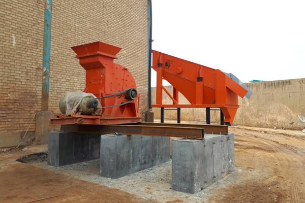 نصب تجهیزات خط سنگ شکن توسط گروه صنعتی تولیدی سامان فراز
